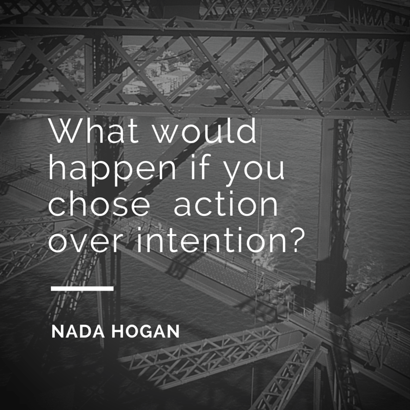 Choosing Action over Intention